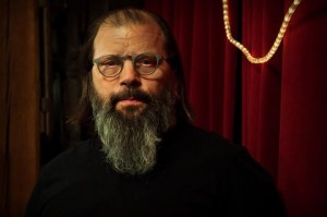 Steve Earle portrait by Hilary Benas